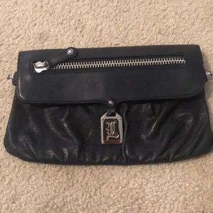 L.A.M.B by Gwen Stefani leather clutch/crossbody